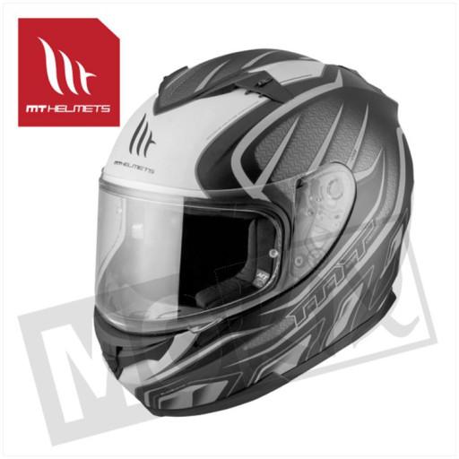 Helm Blade Sv Alpha Mat Zwart/Grijs/Wit