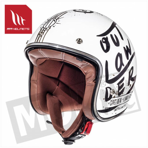 Helm Le Mans Sv Outlander Wit