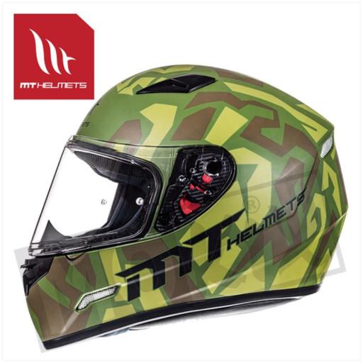 Helm Mugello Leopard Military Groen
