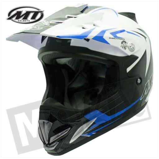 Helm Steel Zwart/Blauw