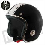 Helm Le Mans Speed Zwart/Wit