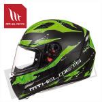Helm Mugello Vapor Zwart/Fluor Groen