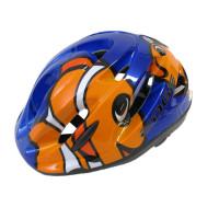 Fietshelm Edge C42 Kids Clowfish Blauw
