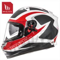 Helm Blade Sv Morph Wit/Rood/Grijs