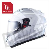 Helm Blade Sv Reflexion Fluor Wit/Grijs