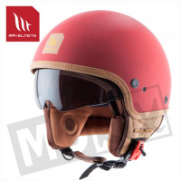 Helm Cosmo Pure Mat Rood