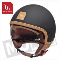 Helm Cosmo Pure Mat Zwart
