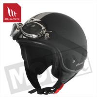 Helm Custom-Line Zwart/Grijs