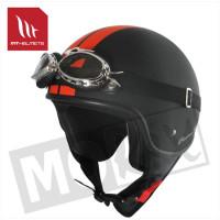 Helm Custom-Line Zwart/Oranje