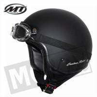 Helm Custom-Rider Zwart