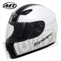 Helm Imola Speed Wit/Zwart