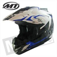 Helm Kids Steel Zwart/Blauw