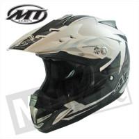 Helm Kids Steel Zwart/Grijs