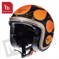 Helm Le Mans Sv Flaming Oranje