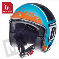 Helm Le Mans Sv Numberplate Blauw