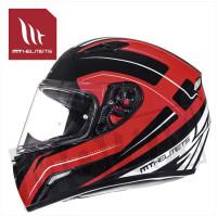 Helm Mugello Maker Zwart/Rood