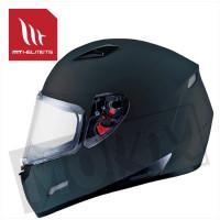 Helm Mugello Solid Mat Zwart
