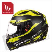 Helm Mugello Vapor Zwart/Fluor Geel