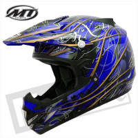 Helm Mx-1 Plague Blauw