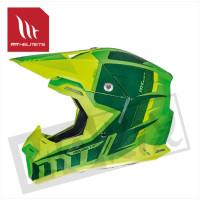 Helm Spec Fluor Groen/Geel