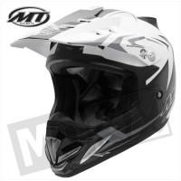 Helm Steel Zwart/Grijs