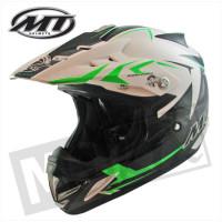 Helm Steel Zwart/Groen