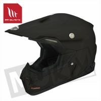 Helm Synchrony Solid Mat Zwart