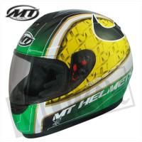Helm Thunder Ii Bull Zwart/Geel