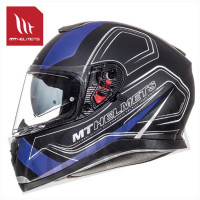 Helm Thunder Iii Sv Trace Zwart/Blauw