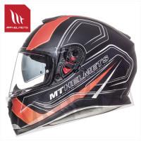 Helm Thunder Iii Sv Trace Zwart/Oranje