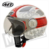 Helm Urban Rood/Wit Promo