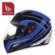 Helm Mugello Maker Zwart/Blauw