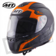 Helm Thunder Ii Squad Zwart/Oranje
